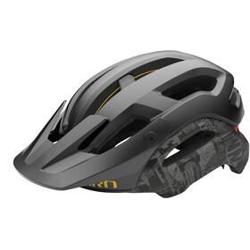 Giro Manifest MIPS Helm, matte black hypnotic
